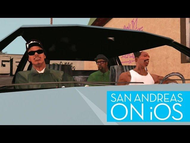 Grand Theft Auto: San Andreas on the iPad