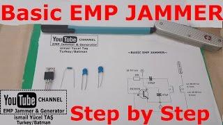 Basic emp jammer %100 work step by step