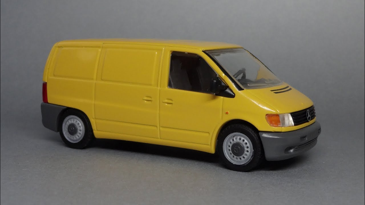 Mercedes benz vito 1 43 nzg modelle made in germany for Mercedes benz made in germany