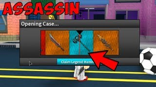 NEW UPDATE 20K UNBOXING! *NEW HEROIC CASE* (Roblox Assassin)