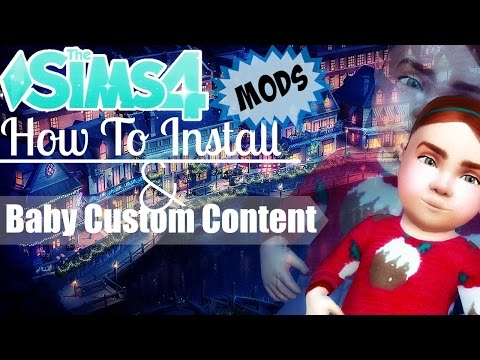 The Sims 4: How To Install Mods | Baby Custom Content
