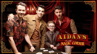 'Aidan's Magic Corner' Premiere: Jonas Brothers Amazed by 10-Year-Old Magician