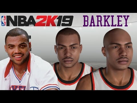 NBA 2K19 How To Create Charles Barkley MyPlayer MyCareer