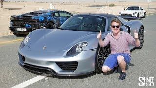 Dubai SUPERCAR SHOPPING for a Porsche 918 Spyder!
