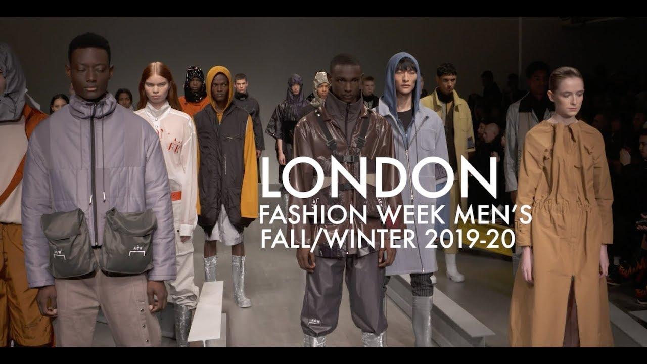 London Fashion Week Men S Fall Winter 2019 Promo Youtube