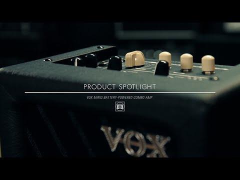 VOX MINI3 G2 3W  Battery-Powered Modeling Guitar Amplifier