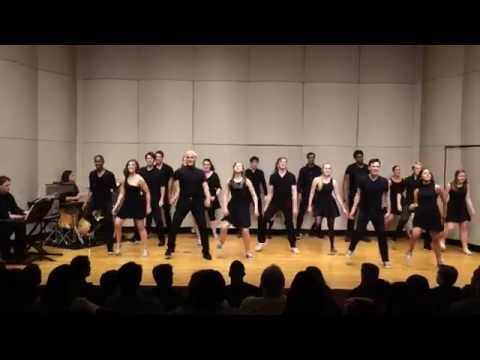 """Elon Class of 2017 """"Raise You Up/ Just Be"""" (KINKY BOOTS)"""