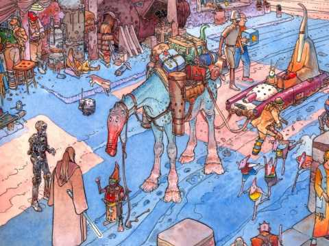 A Tribute to Moebius.