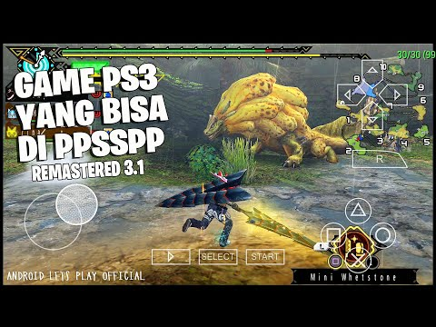 Latihan Pake Touchcreen - Monster Hunter 3rd HD remastered 2 Royal Ludroth - 동영상