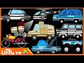 Police Vehicles | Police Cars & Trucks | Bike Chase | My Little TV