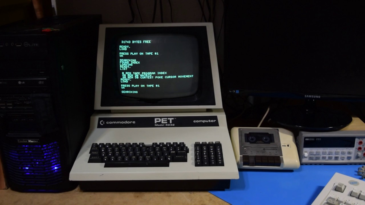 0x0004 - MATRIX on Commodore PET - YouTube