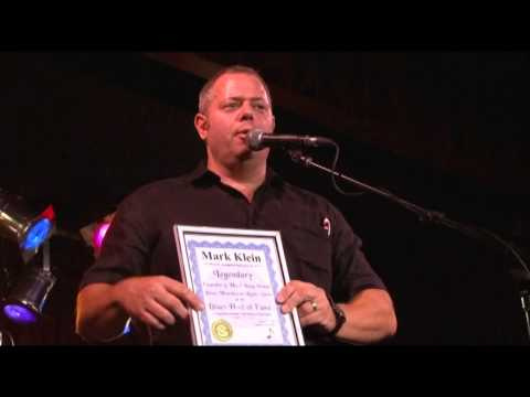 Mark Klein (LI Blues Warehouse Radio Show) acceptance to NY Blues Hall of Fame @ BB Kings Pt 20