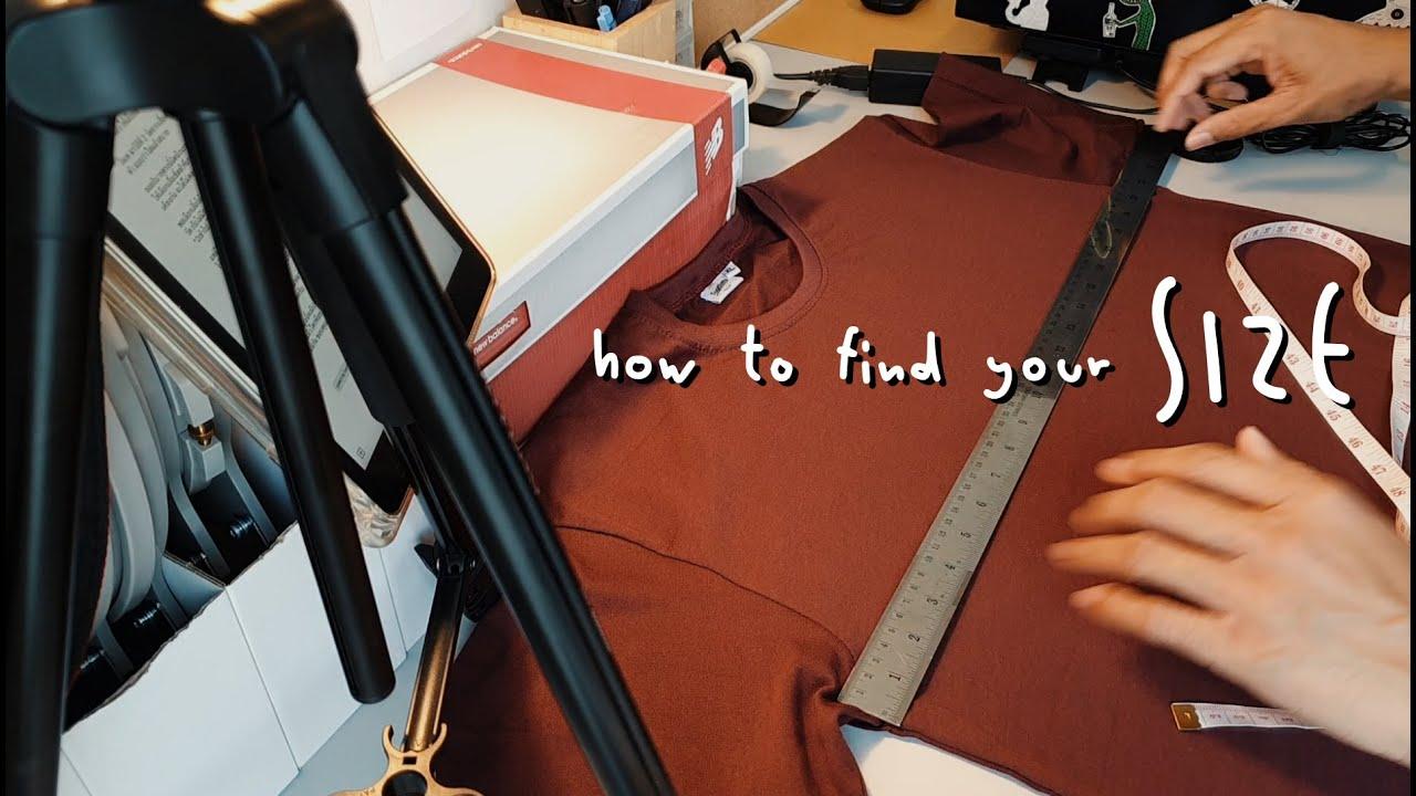 how to find your size วัดรอบอกอย่างไร ให้สั่งเสื้อได้พอดี