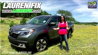 2017 Honda Ridgeline Car Review By Lauren Fix The Car Coach