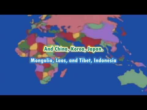 Yakko's World Karaoke - Animaniacs (1993)