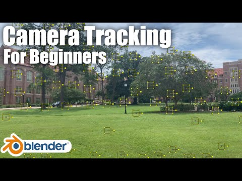 How To Camera Track In Blender For Beginners