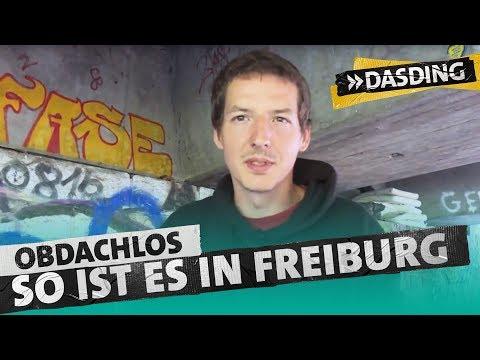 So ist es in Freiburg obdachlos zu sein  | DASDING Freiburg