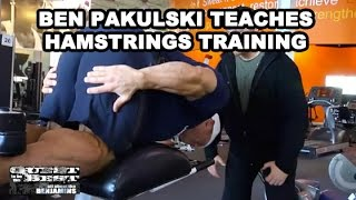 Hamstring Training | Ben Pakulski Teaches Hamstrings Training