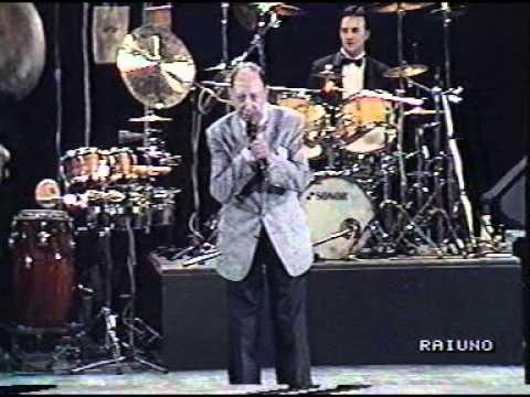 Renato Carosone concerto anni '90