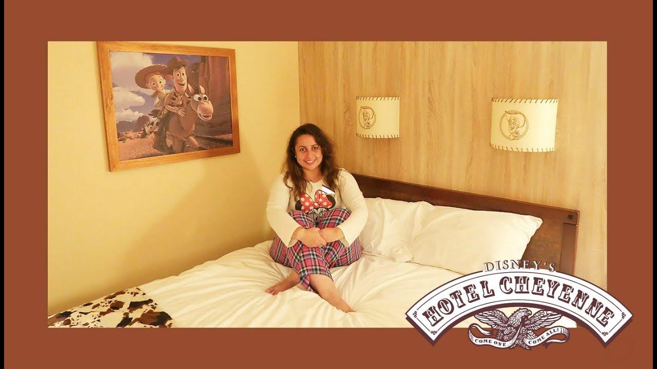 Disneyland Paris Hotel Cheyenne Toy Story Room Tour Youtube