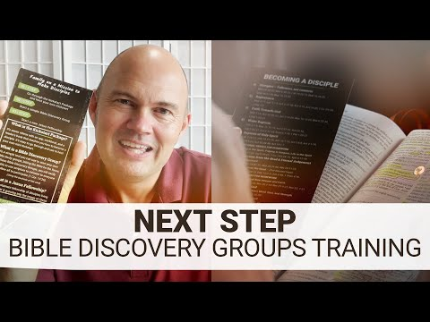 ONE...TWO...THREE... INTRODUCTION TO THE BIBLE DISCOVERY GROUPS!