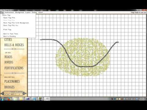 Sketch Map Tutorial for General Staff Wargaming System