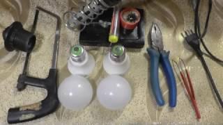видео Ремонт світлодіодних ламп