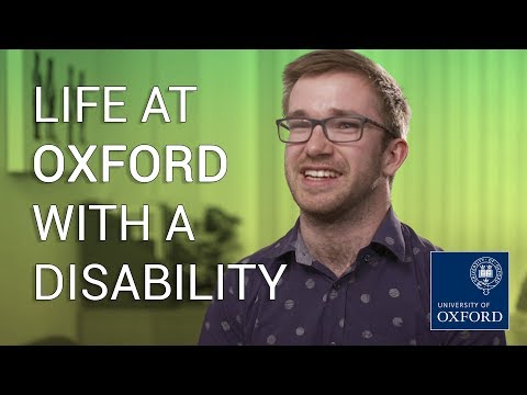 Life at Oxford with a disability