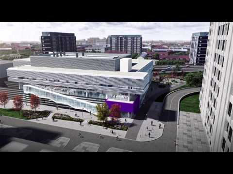 Virtual fly through of the Graphene Engineering Innovation Centre