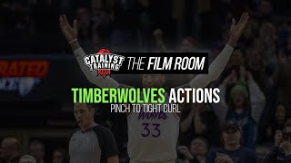 Pinch to Tight Curl || Timberwolves Actions