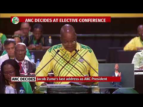 IN FULL: President Jacob Zuma's last speech as ANC president