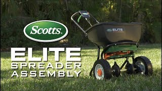 How To Assemble Your Scotts® Elite Spreader