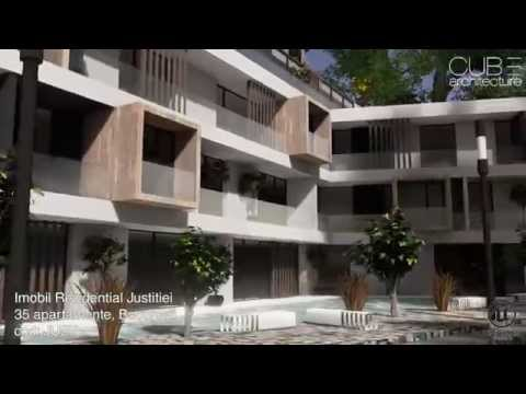 Justitiei Residential Building - 35 apartments - project from the CUB Architecture portfolio