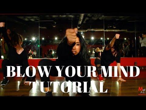 Blow Your Mind - @DuaLipa DANCE TUTORIAL   @DanaAlexaNY Choreography
