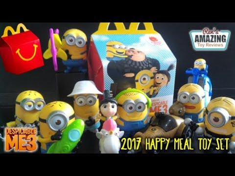2017 McDonald's Philippines Happy Meal Despicable Me 3 toy ...
