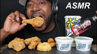 ASMR CHURCH'S CHICKEN. MUKBANG. (NO TALKING). TCASMR