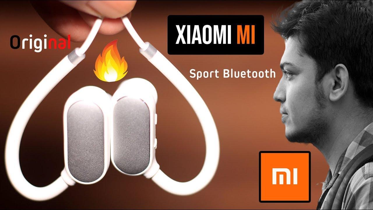 0534932ff37 Original Xiaomi Mi Sports Bluetooth Headset Bluetooth 4.1 A to Z review