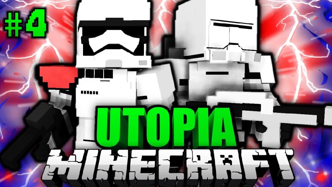 ANGRIFF Des IMPERIUMS Minecraft Utopia DeutschHD YouTube - Minecraft utopia spielen