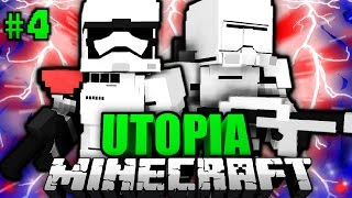 ANGRIFF des IMPERIUMS?! - Minecraft Utopia #004 [Deutsch/HD]