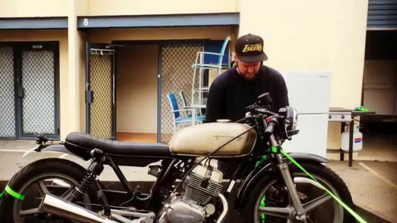 Cb250 Cafe Racer Build Pt 3 Youtube