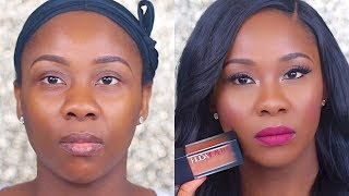 HUDA BEAUTY FAUX FILTER FOUNDATION REVIEW I 500G MOCHA
