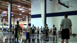 Victorville njb All-Stars vs Visalia All-Stars 2015 Basketball