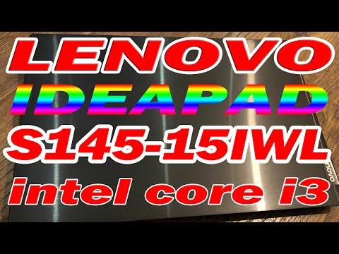 Ноутбук LENOVO S145-15IWL I3-8145u комплектация обзор Леново