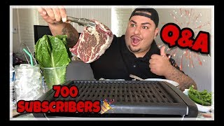 Korean BBQ Celebrating 700 Subscribers + Q&A