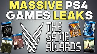 Massive PS4 Games Leaks - Borderlands 3, Avengers and More The Game Awards 2018