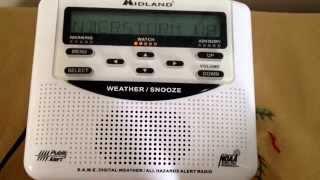 Weatheradio Canada - Severe Thunderstorm Watch (EAS #120) 22/07/2014