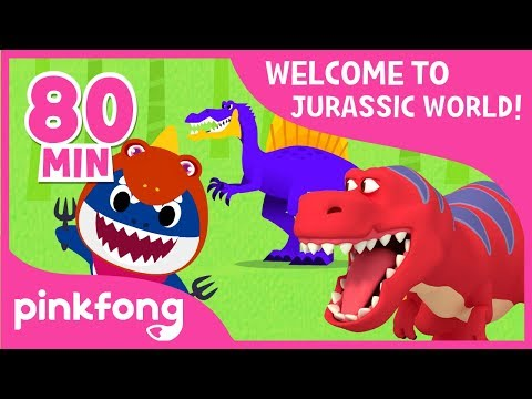 Tyrannosaurus Rex And More! | Dinosaur Songs & Stories | +Compilation | Pinkfong Songs For Children
