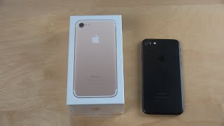 видео Apple iPhone 7 128Gb Gold