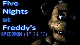 Five Nights at Freddy's 1- Star Speedrun (47:24.50)