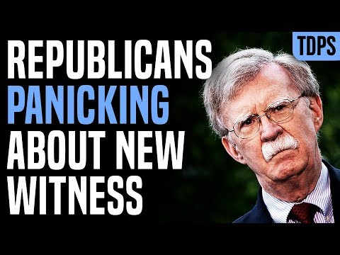 Republicans Fear FLOODGATES if John Bolton Testifies